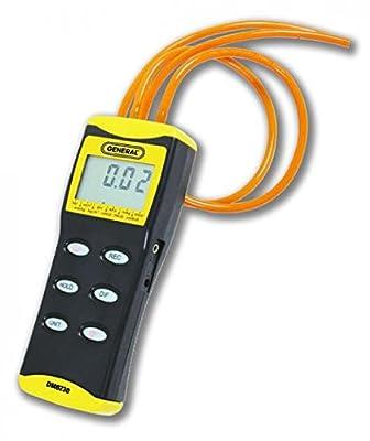 General Tools DM8230 Digital Manometer