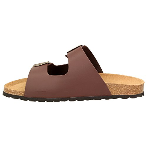 BOWSErnie - Pantuflas Hombre marrón
