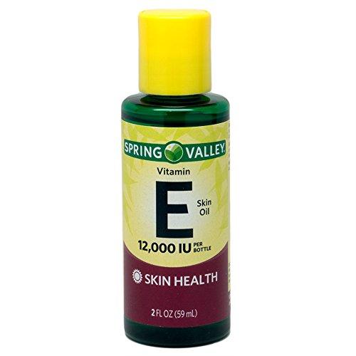 Spring Valley - piel vitamina E aceite 12000 UI, 2 fl. oz.