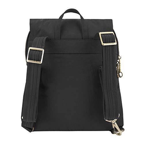 41Ot ApKGnL - Travelon Anti-theft Signature Slim Backpack, Black