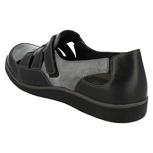 Suave Liz Blue Comfort, Casual, Sandals Blue