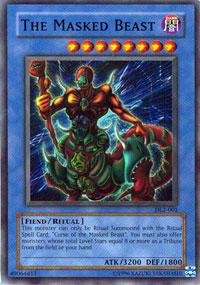 Yu-Gi-Oh! - The Masked Beast (DL2-001) - Duelist League Prize Card - Limited Edition - Super Rare (Curse Of The Masked Beast)