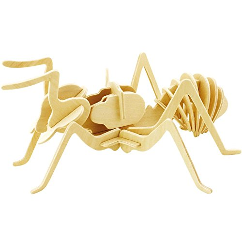 FBALZ 3D Wooden Puzzle Toy With Ant Style For Kids
