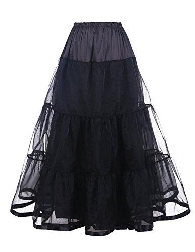 DaisyFormals® Ankle Length Bridal Wedding Long Dress Slips,14 Colors