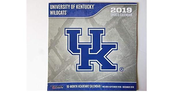Kentucky Wildcats 2019 calendario: Inc. Lang Companies ...