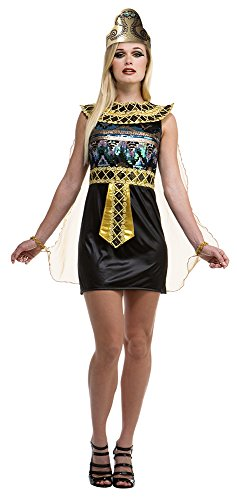 Palamon Women's Egyptian Costume, Black, Small (Egyptian Women Costume)