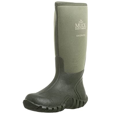 Amazon.com | The Original MuckBoots Adult Edgewater Hi Boot | Rain ...