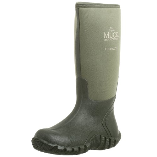 The Original MuckBoots Adult Edgewater Hi Boot,Moss,6 M US Mens/7 M US Womens (Best Manure For Roses)