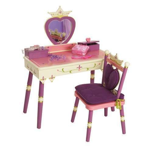 Levels of Discovery Princess Vanity Table and Chair Set by Levels Of Discovery / NOT ''noooshi''
