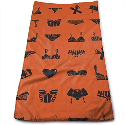 Different, Bras, Underwear, Gloves, Orange Microfiber Cabana Striped Beach Towel Pink and White (30