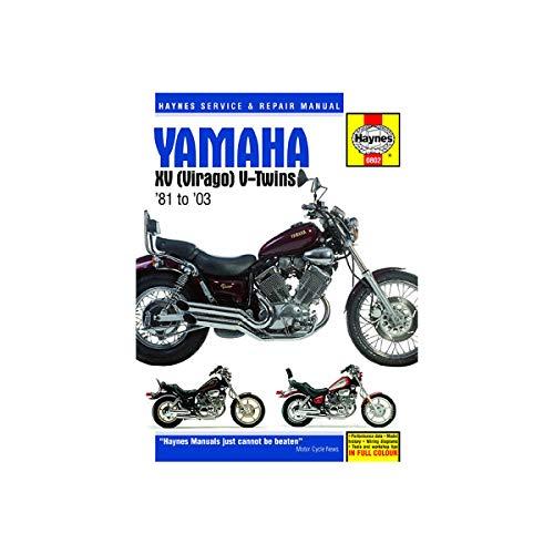 Haynes 81-97 Yamaha XV750 Repair Manual on