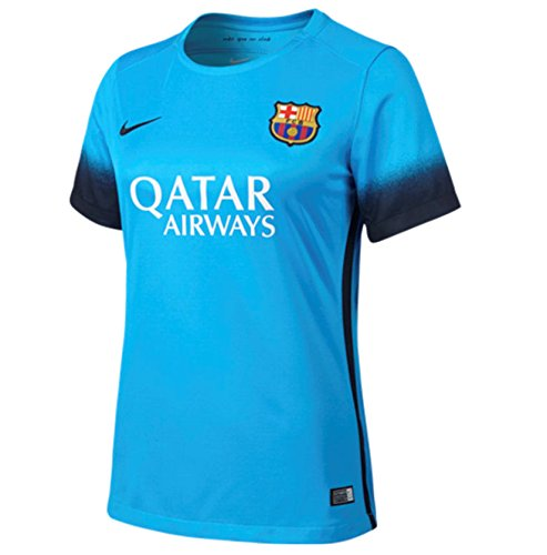2015-2016 Barcelona Third Nike Ladies Shirt B015K9MU4O