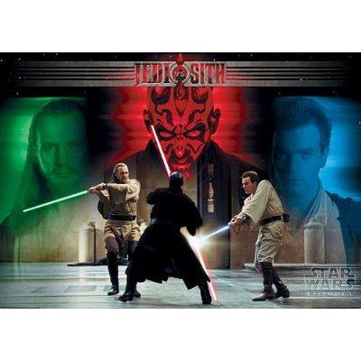 Star Wars Movie Jedi & Sith Poster Print