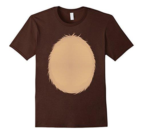 Homemade Halloween Costume Ideas For Men (Mens Reindeer Christmas DIY Idea Shirt Rudolph Halloween Costume XL Brown)