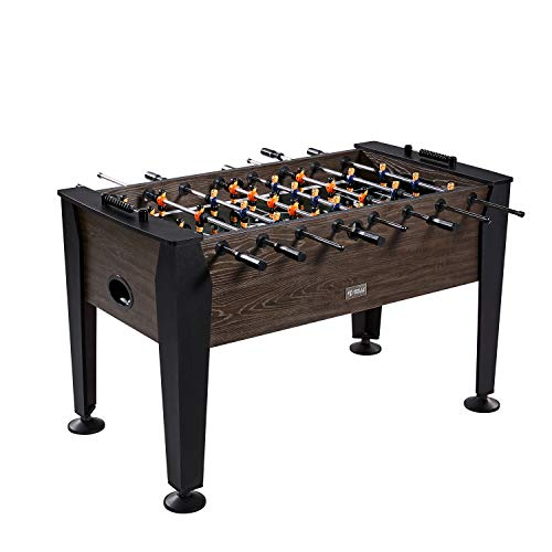 Foosball Table Games and Accessories, Standard Size - Fun, Multi Person Table Soccer for Adults, Kids - Recreational Foosball Games for Game Rooms, Arcades, Bars, Parties, Family Night