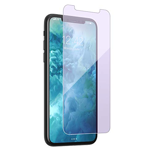 [Anti Blue Light] 9H Tempered Glass for iPhone Xs Max, Pavoscreen UV Protection Blocks Blue Ray Screen Protector for iPhone Xs Max [6.5 inch]