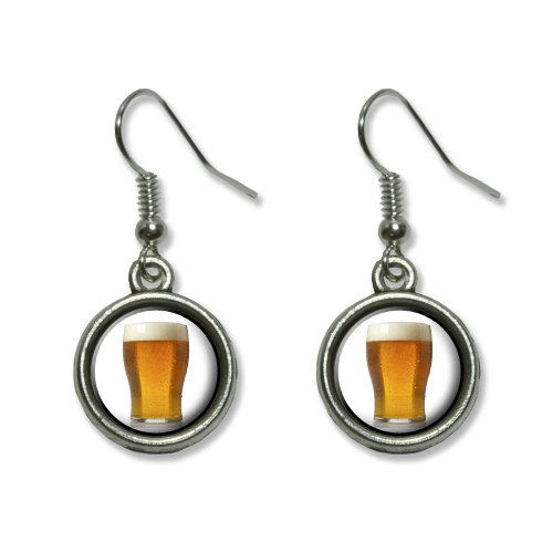 Glass Novelty Dangling Dangle Earrings