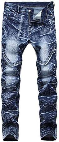 SZKMBストレートジーンズメンズサイズ28-38 40 42秋春パンクロックストリートウェア