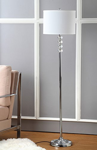 Safavieh Lighting Collection Vendome Clear 60.25-inch Floor Lamp ()