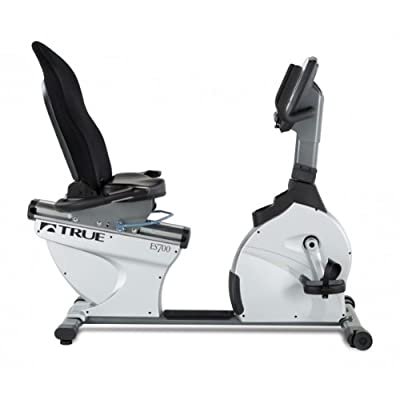 TRUE ES700 Recumbent Bike with Emerge LED Console