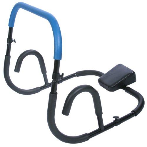 Physionics - Appareil de Musculation pour Abdominaux AB Trainer Pliable (Coloris au Choix)