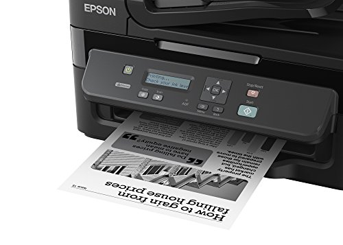 Epson M205 All-in-One Wireless Ink Tank Black and White Printer with ADF, Black