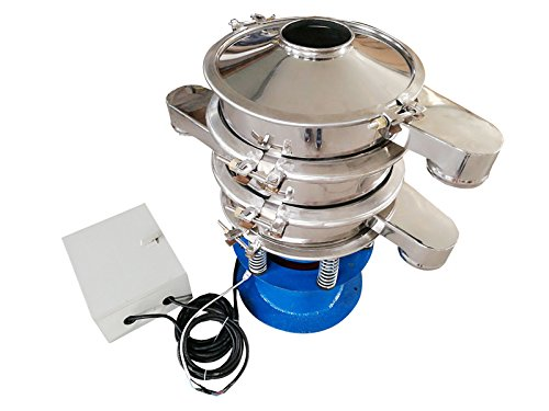 110V 370W #20 , #100 Mesh Screen Electric Powder Shaker Vibration Sieve Machine by Shaker