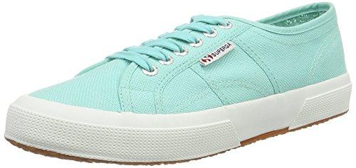 Classic 2750 n green top Low Aqua Gr Adulte Superga Sneaker Cotu Mixte 1ExwBqB