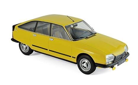 Norev 181624. Coche Citroen GS X3 1979 Amarillo. Escala 1/18. Metalico: Amazon.es: Juguetes y juegos