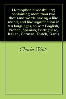 Portuguese Vocabulary