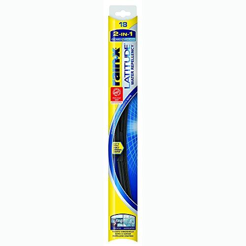 Rain-X 5079275-2 Latitude 2-in-1 Water Repellency Wiper Blade - 18-inches