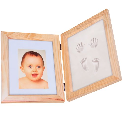 Trademark Home Baby Prints and Keepsake Desk Frame Kit