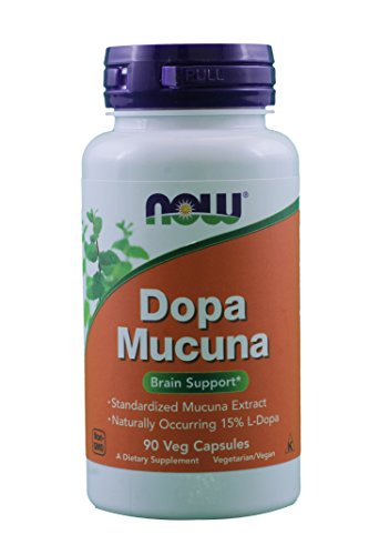 DOPA Mucuna Vcaps NOW Pack