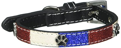Mirage Pet Products Patriotic Ice Cream Paws Dog Collars, Small