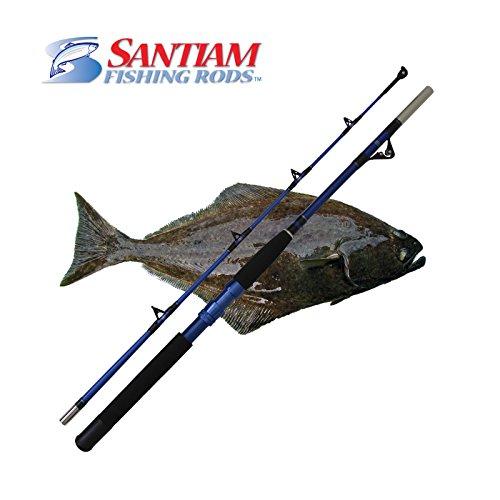Santiam Fishing Rods Travel Rod 2 Piece 6'0″ 80-120lb Halibut/Tuna/Saltwater Rod Review