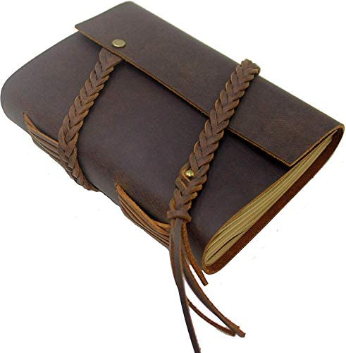 Leather Journal Handmade Genuine Notebook product image