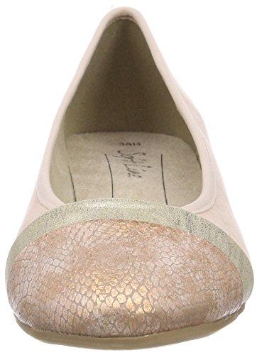 Softline Mujeres 's 22165 Ballet Flats, Rosa (rosa)