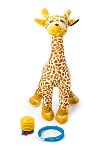 (BUBBY AIR Stuffed Giraffe Plush, 40