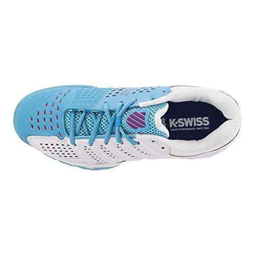 K-swiss Junioren` Bigshot Light 2.5 Tennisschoenen Wit En Bachelor Button- (83338