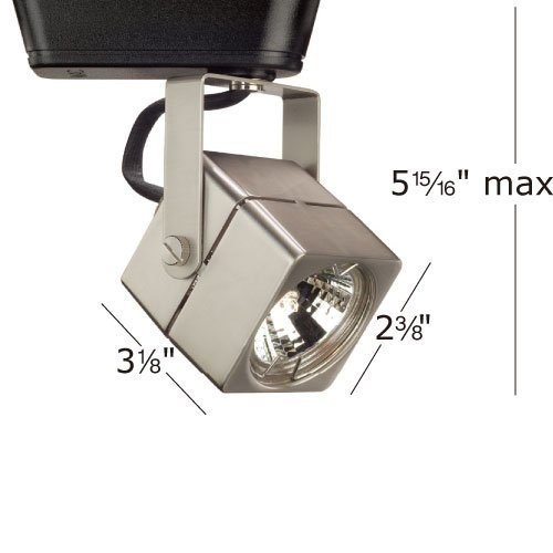 WAC Lighting LHT-802 Low Voltage Track Heads Compatible with Lightolier Systems, White