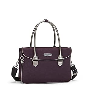 Kipling Superwork S, Briefcase, Purple (Deep Velvet), 38 cm, 11 liters