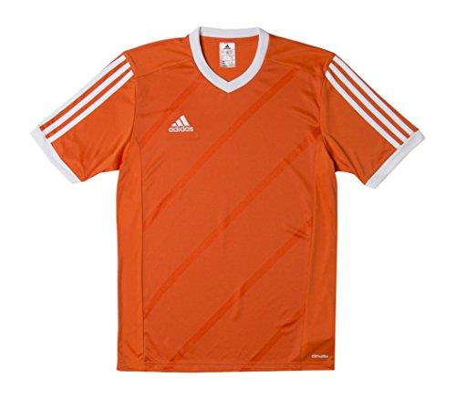 Maillot Adidas Tabela blanc Longues Manches 14 Orange qCPwdC