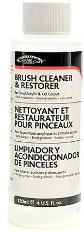 Winsor & Newton Brush Cleaner & Restorer (120 ml) 2 pcs sku# 1843543MA by Winsor & Newton