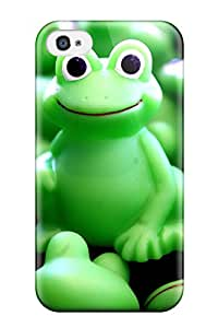 Special Design Back Froggy Toys Phone Case Cover For Iphone 4/4s