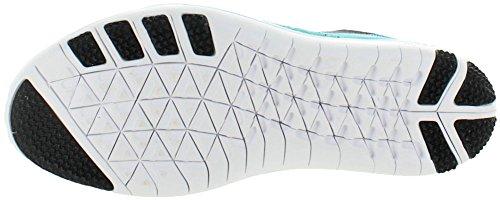 Nike Womens Gratis Forvandle Flyknit Treningssko Hyper Jade / Svart / Rosa Blast