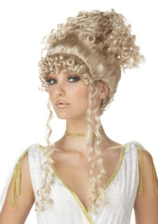 Athenian Goddess Blonde Wig Costume Accessory - California Costumes Women's Athenian Goddess Costume