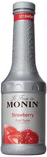 Monin Strawberry Purée 1 L - Single Bottle by Monin (Image #5)
