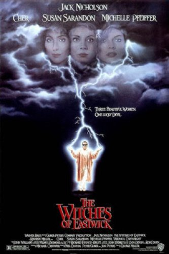 The Witches Of Eastwick Single-Sided Regular 27X40 Rare Original 1987 Rolled One Poster ()