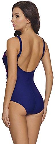 Aquarilla Traje de Ba?o Para Mujer Milano Azul Claro/Rosa