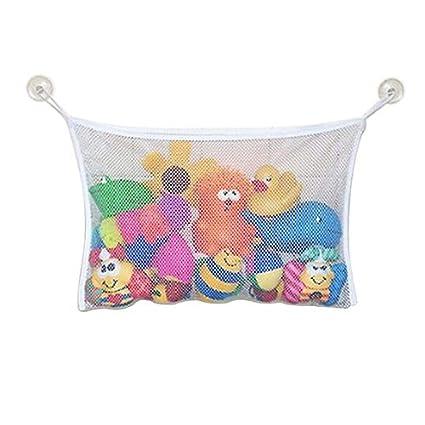 Bathroom Hanging Storage Bag Baby Toys Organiser Household Mesh Net Bags Pouch